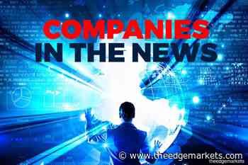 Top Glove, Unisem, IOI Corp, Theta Edge, Pertama Digital, Green Packet, YTL Corp, Duopharma Biotech, Bintai Kinden Corp, AirAsia Group, Serba Dinamik Holdings, MMC Corp - The Edge Markets MY