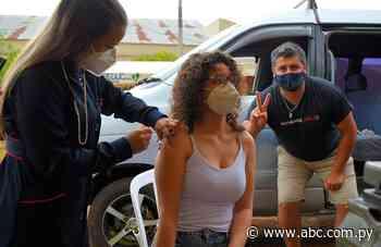 Tras vacunación irregular, liberan terminación de cédula en Villarrica - ABC Color
