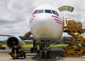 Avión Boeing B767 lleva más vacunas a Panamá - torreeldorado.co