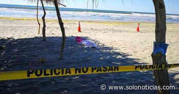 Hallan cadáver de joven en playa San Marcelino de San Pedro Masahuat - Solo Noticias