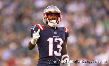 Patriots rule out Malcolm Perry, list Nelson Agholor, Jalen Mills as questionable
