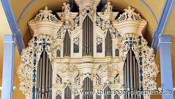 Von Wunderpfeifen und Orgel in Stotternheim - Thüringer Allgemeine