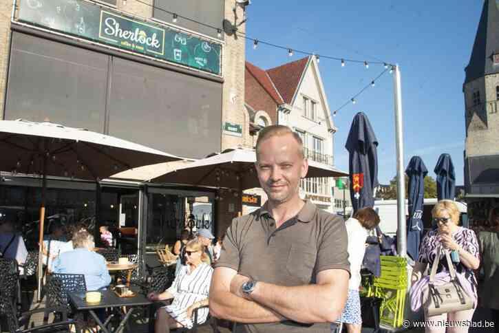 """Koffiebar sluit tien maanden de deuren tijdens vernieuwing Markt: """"Ik zag geen andere oplossing"""""""