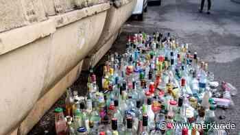Glascontainer abgeschafft: Bürger ärgern sich - Merkur Online