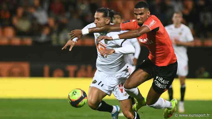 Ligue 1 - 5e journée, Lorient-Lille : Le LOSC, battu par les Merlus, n'avancent vraiment pas - Eurosport FR