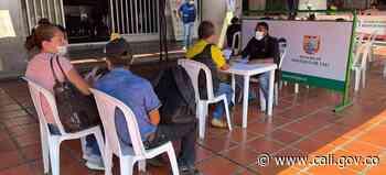 Habilitan punto fijo en el CAM para el registro de vendedores informales - Alcaldía de Santiago de Cali