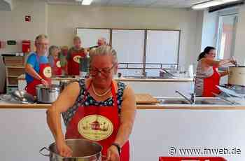 Freudenberg: Fleißige Helfer sorgten für Genuß auf dem Kegl-Fest - Fränkische Nachrichten