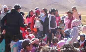 Jornada feliz con los niños de los cerros de la Quebrada del Toro - El Tribuno.com.ar