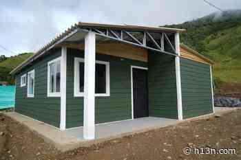 Retraso en proyecto de vivienda en ETCR de Dabeiba - Hora 13 Noticias
