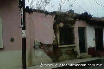 Hasta 75 viviendas en Jiquilpan constituyen un riesgo por el mal estado en que se encuentran - La Voz de Michoacán