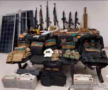 Decomisa FGJEM arsenal a La Familia Michoacana en San Felipe del Progreso; detienen a siete - Plana Mayor