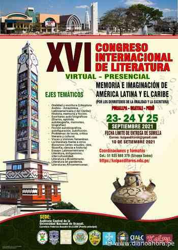 "Pucallpa, sede""XVI Congreso Internacional de Literatura"" - DIARIO AHORA"