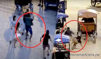 Pucallpa: delincuente aprovecha distracción de joven para robar celular - Panamericana Televisión