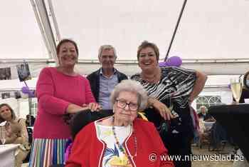 Maria Eeckelaert is 100 geworden