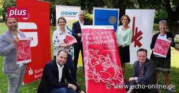 Lesefestival in Bensheim glänzt mit Prominenz - Echo Online