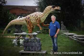 Kinrooise dino is verkocht en verhuist naar Apeldoorn