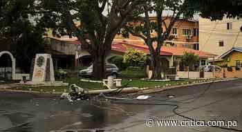 Motorizado se estrella y muere en Betania [Video] - Crítica Panamá