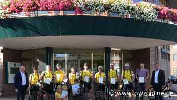 Wiederbelebung auf Mountainbiketour: Lebensretter im Emsteker Rathaus geehrt - Nordwest-Zeitung