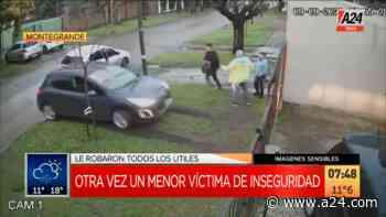 Monte Grande: se roban el auto y hasta la mochila de un nene - A24.com