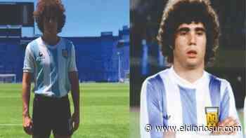 Joven actor de Monte Grande interpretará a una gloria del fútbol en la serie de Maradona - El Diario Sur