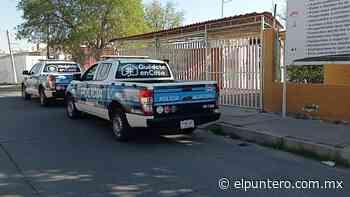 Roban tinaco de la primaria Ignacio Rodríguez - El puntero