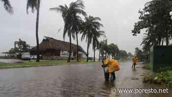 Así se ve Isla Mujeres durante el paso de la Onda Tropical 29: EN VIVO - PorEsto