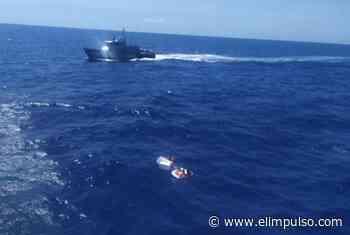▷ Fueron hallados 4 tripulantes de la lancha perdida entre Higuerote y La Tortuga #7Sep - El Impulso