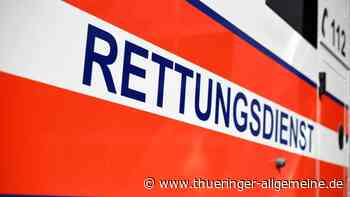 Traktor kippt im Unstrut-Hainich-Kreis um - Fahrer verletzt - Thüringer Allgemeine
