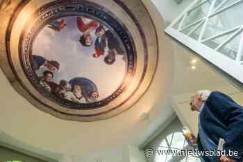 Digitale restauratie haalt plafondschildering van Chinese pa... (Deurne) - Het Nieuwsblad