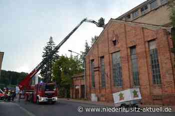 Explosion löste Brand in altem Kohlelager in Spremberg aus - Niederlausitz Aktuell - NIEDERLAUSITZ aktuell