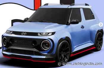 Hyundai Casper N Line Imagined - Gives Maruti Ignis A Run For Its Money - Car Blog India