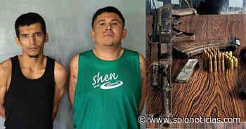 Capturan a pandilleros armados en Santa Elena, Usulután - Solo Noticias