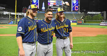 Milwaukee's Combined No-Hitter Is MLB's Record Ninth This Season