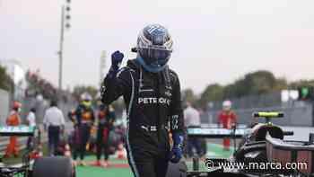 Bottas grita la 'minipole' sobre Hamilton, Carlos Sainz da el máximo de Ferrari con el 7º; Alonso - MARCA.com