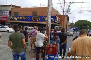Buhoneros de Cabudare denuncian que amenazan con desalojarlos - La Prensa de Lara