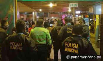 Fiesta en el Callao: intervienen a 300 personas por incumplir medidas sanitarias contra la Covid-19 - Panamericana Televisión