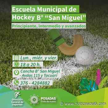 Nueva escuela de hockey en el barrio San Miguel - Noticiasdel6.com