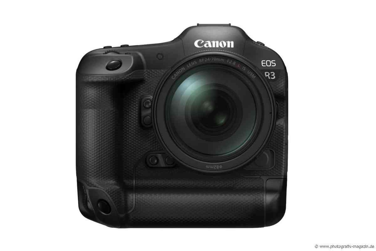 Canon EOS R3 doch deutlich günstiger als zuletzt gedacht? - Photografix Magazin