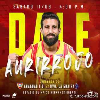 ¿Dónde ver en vivo Aragua vs La Guaira por la fecha 22 de la Liga FUTVE de Venezuela? - Futbolete
