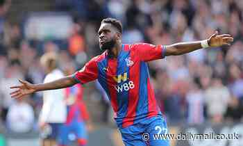 Crystal Palace striker Odsonne Edouard describes 'dream debut' after victory against Tottenham