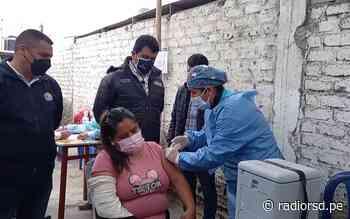 Nuevo Chimbote: Red de Salud Pacífico Sur instaló puntos temporales de vacunación - Radio RSD Chimbote