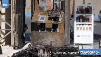 Se incendia bomba en gasolinera en el Pacífico - El Mexicano - Gran Diario Regional - El Mexicano Gran Diario Regional