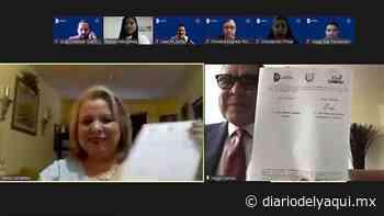 Fundación Eva de Camou y Tecnológico de Huatabampo renuevan convenio - Diario del Yaqui