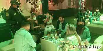 Otra vez intervienen a 300 personas en discotecas de Trujillo y Moche - La Industria.pe