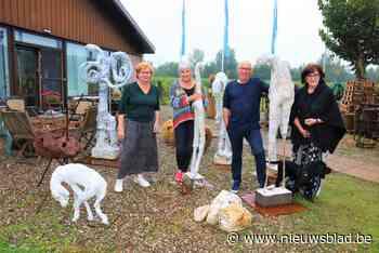Kunstenaarscollectief Kruy 3 richt voormalige meubelzaak in als gezellig atelier