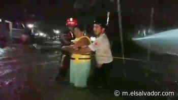 Alerta roja por lluvias en los municipios Tecoluca, Jiquilisco y Puerto El Triunfo - elsalvador.com