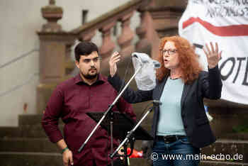 Bündnis gegen Rechts in Aschaffenburg: »Kein Fußbreit dem Faschismus« - Main-Echo