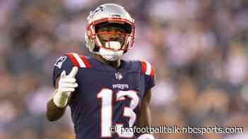 Patriots will have Nelson Agholor, while Miami is without Preston Williams