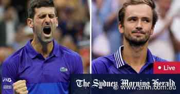 US Open 2021 LIVE: Novak Djokovic takes on Daniil Medvedev in men's final