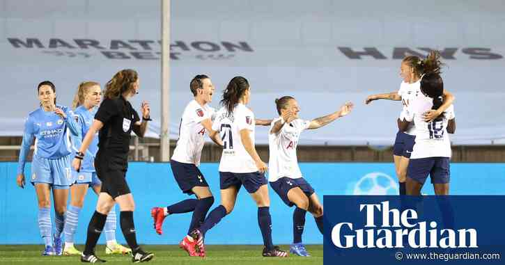WSL roundup: Tottenham shock Manchester City with controversial goal